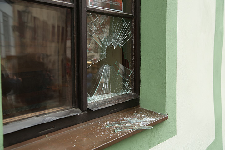 A2B Glass are able to board up broken windows while they are being repaired in Lewisham.